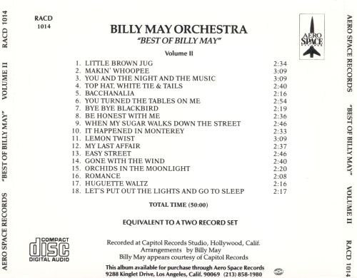 The Best of Billy May, Vol. 2