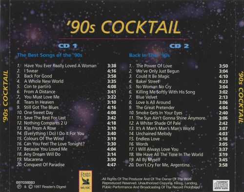 '90s Cocktail