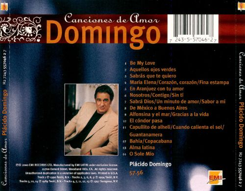 Canciones de Amor: Songs of Love