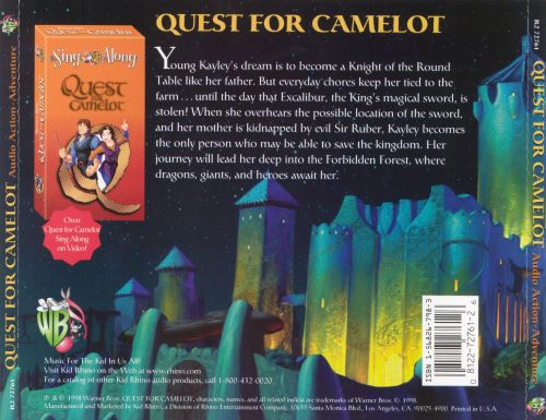 Quest for Camelot [Read-Along]