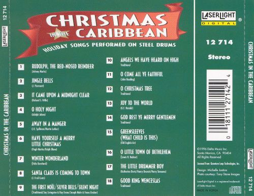 Christmas in the Caribbean: Holiday Songs Performed on Steel Drums ...