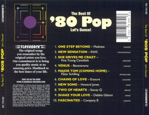 The Best of '80s Pop: Let's Dance!