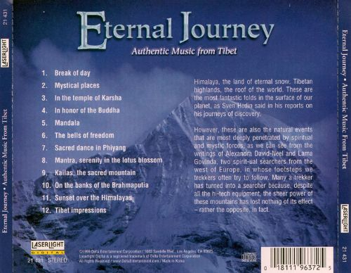 Eternal Journey: Authentic Music from Tibet