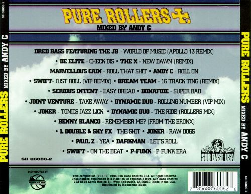 Pure Rollers: 20 Rolling Drum & Bass Tracks