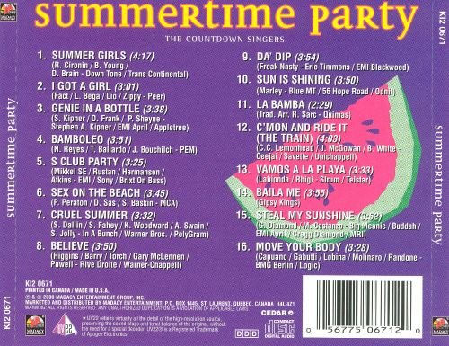 Summertime Party