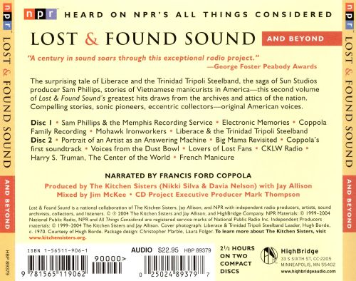 Lost & Found Sound and Beyond