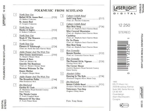 Folkmusic from Scotland