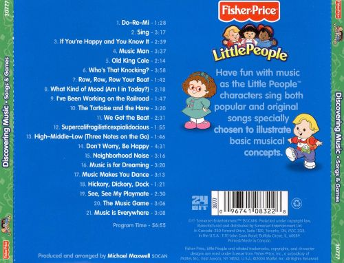 little people discover music songs games fisher price