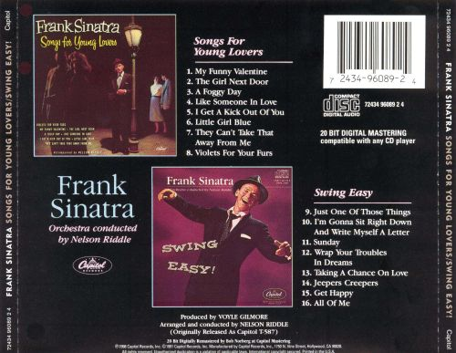 Songs for Young Lovers & Swing Easy