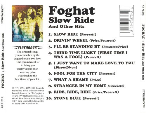 Slow Ride & Other Hits