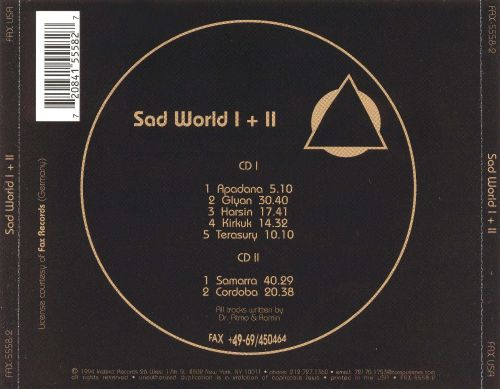 Sad World I & II
