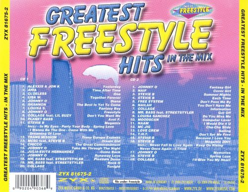 Greatest Freestyle Hits: In the Mix