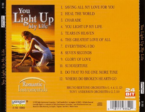 You Light Up My Life: Romantic Instrumentals