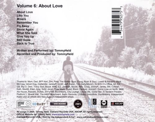 Volume 6: About Love