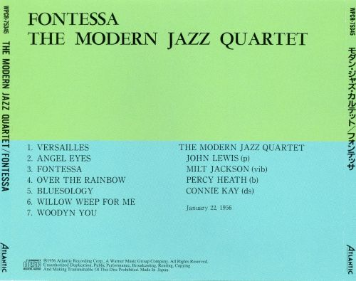 Fontessa by The Modern Jazz Quartet - Rate Your Music