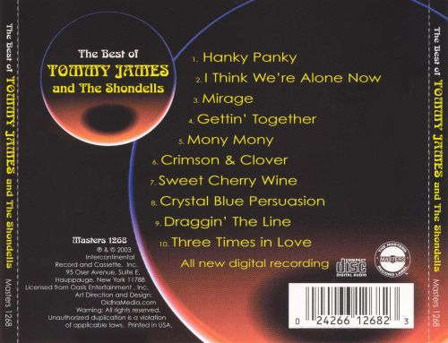 The Best of Tommy James & the Shondells [Intercontinental]