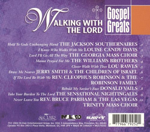 Gospel Greats: Walking With the Lord