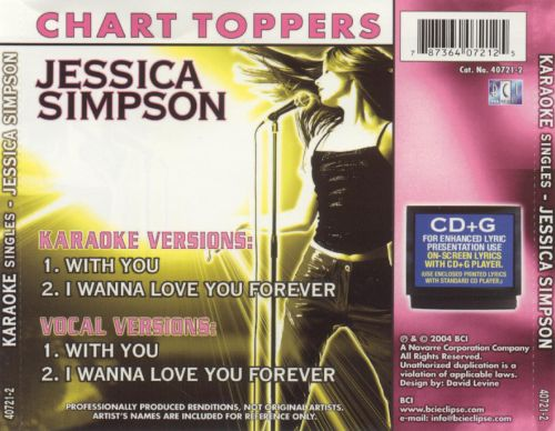 Jessica Simpson: With You/I Wanna Love You Forever