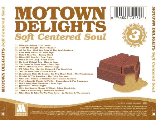 Motown Delights: Soft Centered Soul