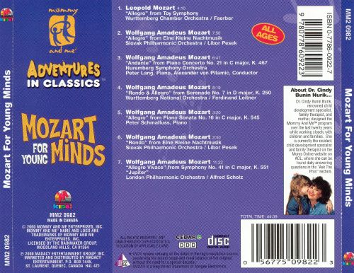 Mommy and Me: Mozart for Young Minds