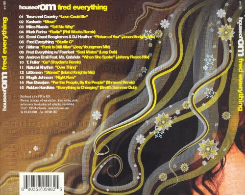 House of Om Presents: Fred Everything