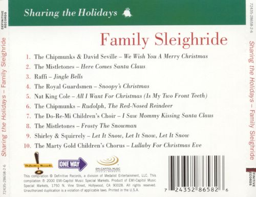 Sharing the Holidays: Family Sleigh Ride