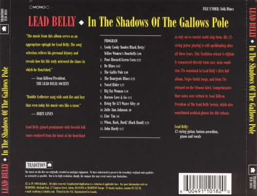 In the Shadow of the Gallows Pole