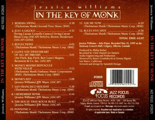 In the Key of Monk