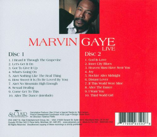 Marvin Gaye [St. Clair]