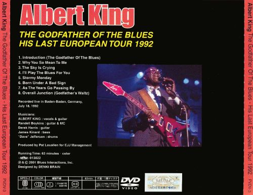 The Godfather of the Blues: His Last European Tour 1992