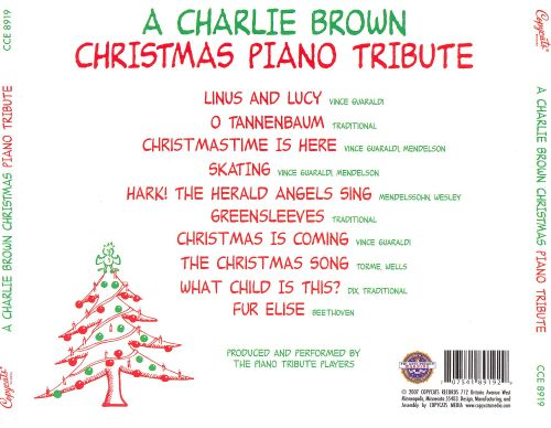 Charlie Brown Christmas Piano Tribute - Various Artists | Songs ...