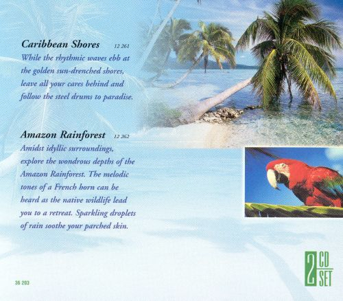 Nature and Music Meditation: Caribbean Shores/Amazon Rainforest