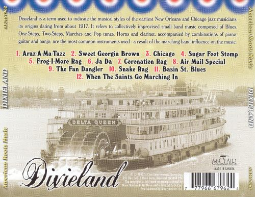 American Roots Music: Dixieland