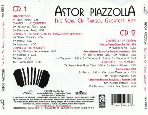 The Soul of Tango: Greatest Hits