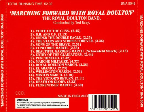 Marching Forward with Royal Doulton