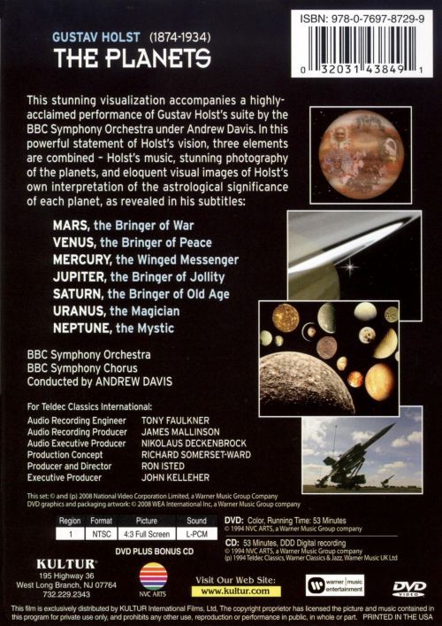 The Planets [DVD/CD]