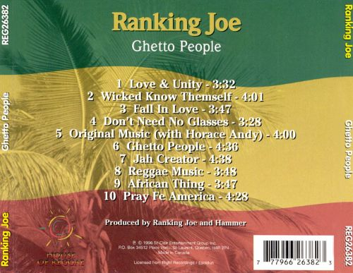 Ghetto People [House of Reggae]