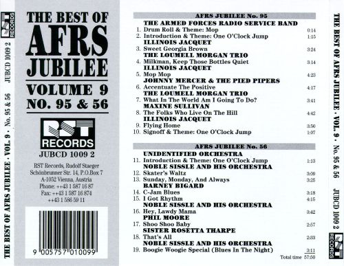 The Best of AFRS Jubilee, Vol. 9