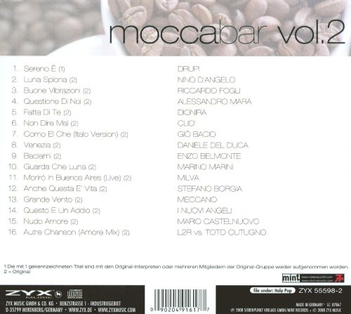 Mocca Bar, Vol. 2