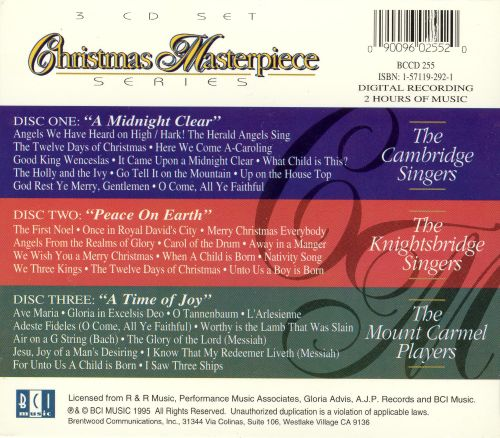 A Treasury of Christmas Classics by World-Famous Choirs