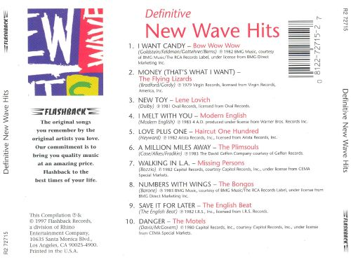 Definitive New Wave Hits