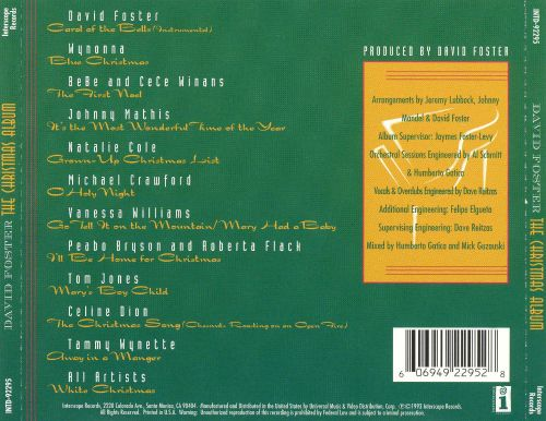 The Christmas Album - David Foster | Songs, Reviews, Credits ...