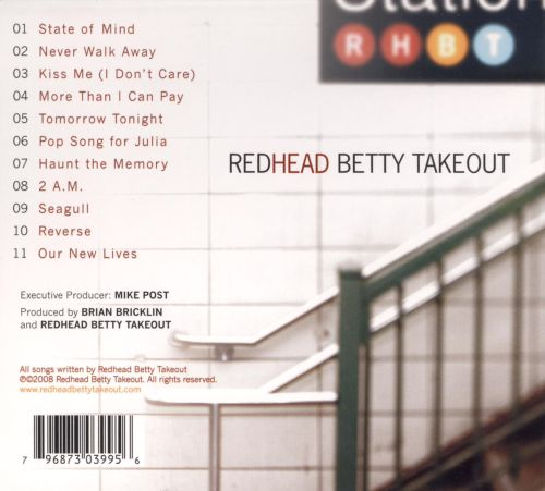 takeout Betty redhead