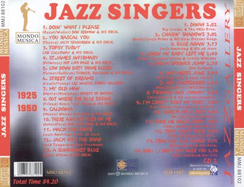 The Jazz Singers: Jazz Gallery