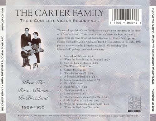 When the Roses Bloom in Dixieland: Their Complete Victor Recordings (1929-30)