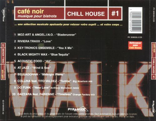 Cafe Noir: Chill House, Vol. 1