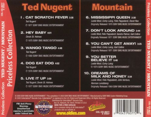Ted Nugent/Mountain