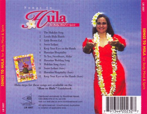 Songs to Hula for Body, Mind & Spirit