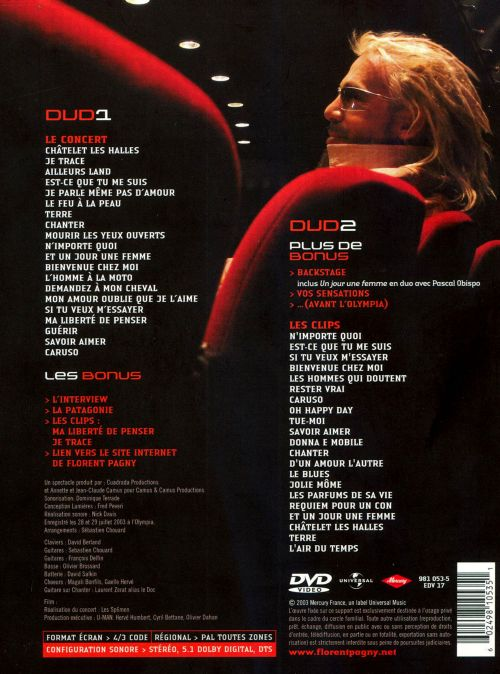 Ete a l'Olympia 2003 [DVD]