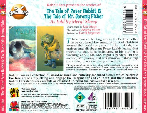 Tale of Peter Rabbit/Tale of Mr. Jeremy Fisher/Tale of Two Bad Mice
